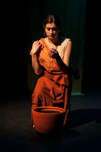 Rebecca John in (un)earthed - Photo by Tariq Jamal