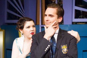 Christina O'Dell and Kyle Thulien in Anything Goes. Photo Credit: Rad Grandpa Photography