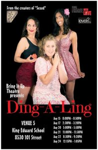 Ding-a-ling handbill, Fringe 2013. Source: https://www.facebook.com/pages/Bring-It-Up-Theatre/199063803525783