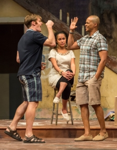 Martin Happer, Sereana Malani, Michael Blake. Photo credit: EPIC Photography.